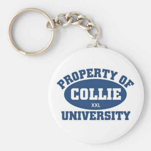Collie University Key Chains