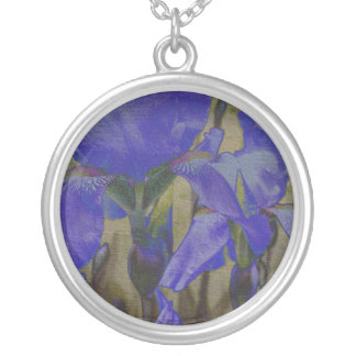Collier de jardin d'iris