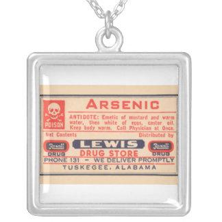 Collier médical arsenical de poison