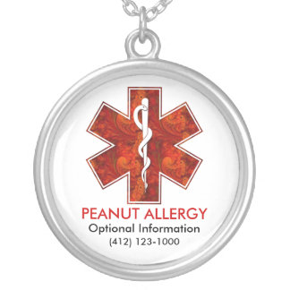 Collier médical d allergie d arachide