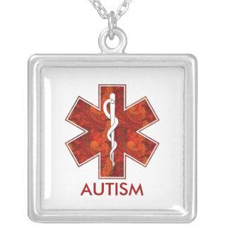 Collier médical d autisme Personnalisable