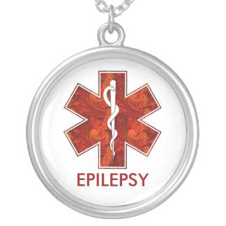 Collier médical d épilepsie Personnalisable