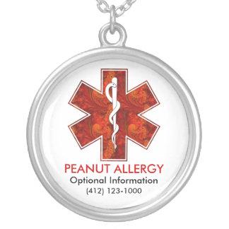 Collier médical d'allergie   d'arachide