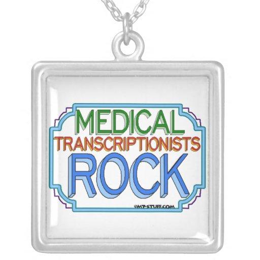 Collier médical de Transcriptionist