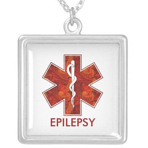 Collier médical   d'épilepsie : Personnalisable