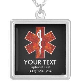 Collier médical   personnalisable