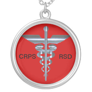 Collier vigilant médical de caducée de CRP RSD