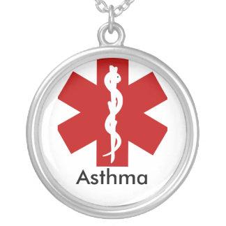 Collier vigilant médical d'identification - asthme