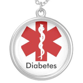 Collier vigilant médical d'identification - diabèt