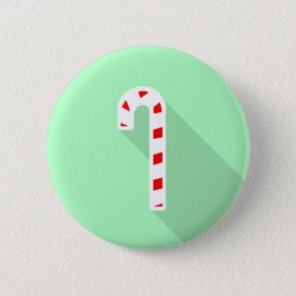 Colligo Candy Cane Badge 2 Inch Round Button
