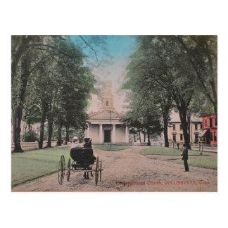 Collinsville Church Postcard