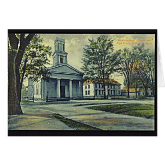 Collinsville Church & School Notecard Greeting Card