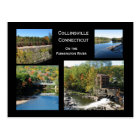 Collinsville on The Farmington River Postcard