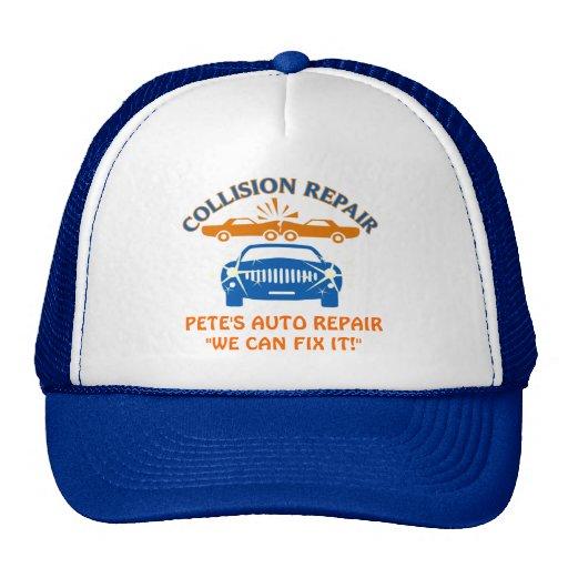 Collision Auto Repair Trucker Hat