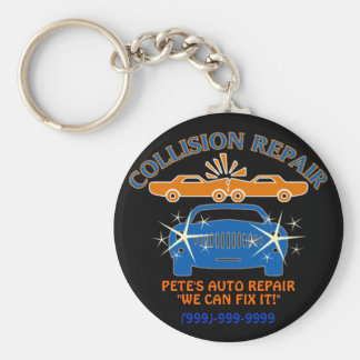 Collision Auto Repair Keychain