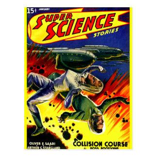 Collision Course! Postcard
