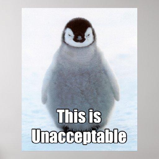 Collosal Penguin Poster