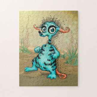 COLLY ALIEN MONSTER CARTOON PUZZLE 11 X 14