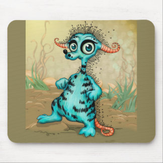 COLLY CUTE ALIEN MONSTER CARTOON MOUSE PAD