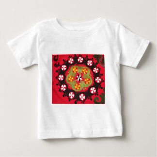 Coloful Antique Tribal  Turkish Textiles Baby T-Shirt