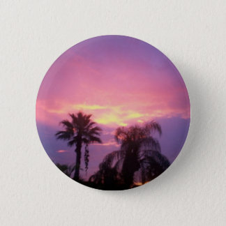 Coloful Florida Sunset 2 Inch Round Button