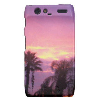 Coloful Florida Sunset Droid RAZR Covers