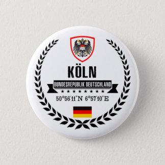 Cologne 2 Inch Round Button