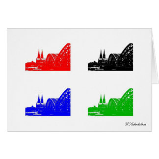 Cologne cathedral card