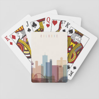 Cologne, Germany | City Skyline Playing Cards