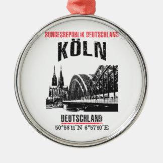 Cologne Metal Ornament