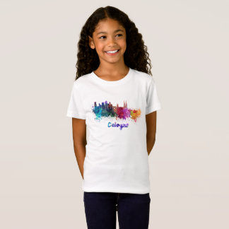 Cologne skyline in watercolor T-Shirt