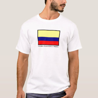 Colombia Barranquilla LDS Mission T-Shirt