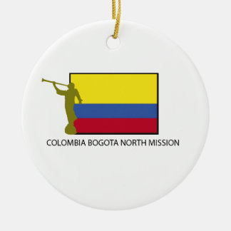 Colombia Bogota North Mission CTR LDS Ceramic Ornament