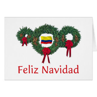 Colombia Christmas 2 Card