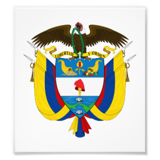 Colombia Coat Of Arms Photo Print