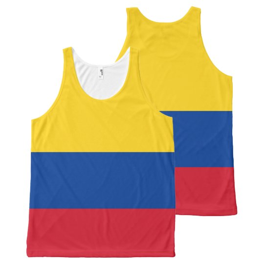 Colombia - Colombian Flag Tank Top.