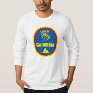 Colombia colors, tropical and mountains T-Shirt