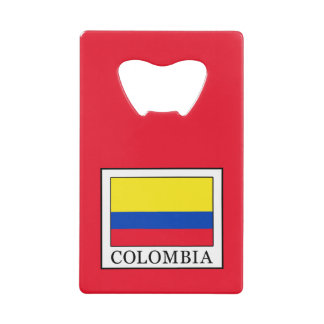 Colombia Credit Card Bottle Opener