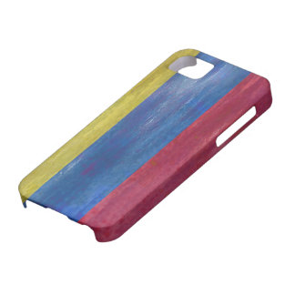 Colombia distressed Colombian  flag iPhone 5 Covers