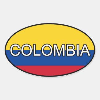 Colombia Euro Sticker