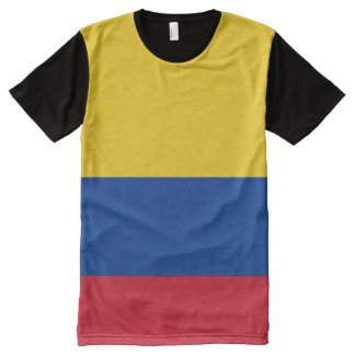 Colombia Flag All-Over-Print T-shirt