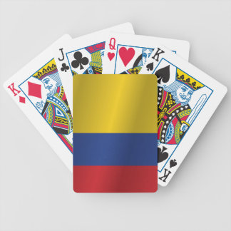 Colombia flag bicycle playing cards