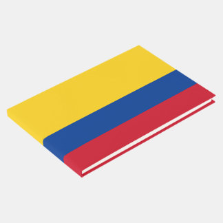 Colombia Flag Guest Book