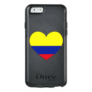 Colombia Flag Heart OtterBox iPhone 6/6s Case