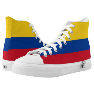 Colombia Flag High Tops