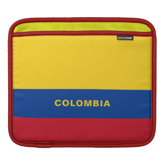 Colombia Flag iPad Sleeves