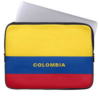 Colombia Flag Laptop Sleeve