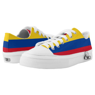 Colombia Flag Low-Top Sneakers