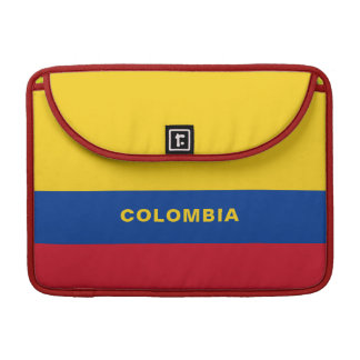 Colombia Flag MacBook Sleeve Pro