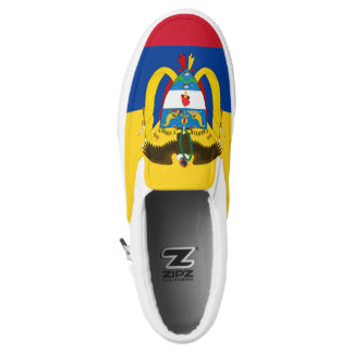 Colombia Flag Slip-On Sneakers